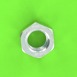Šestihranná matice ocel pozinkovaná bílá Din 934