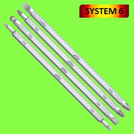 Lames Réversibles System 6 Série 284