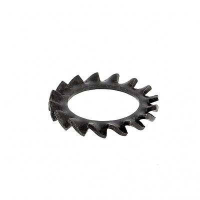 Podložka černá ocel Din 6798A